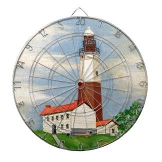 Montauk Lighthouse Dartboard
