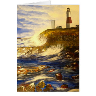 Montauk Lighthouse Greeting cards
