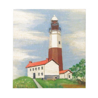 Montauk Lighthouse Notepad
