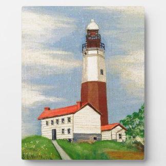 Montauk Lighthouse Plaque