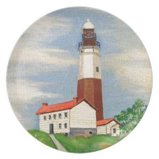 Montauk Lighthouse Plate
