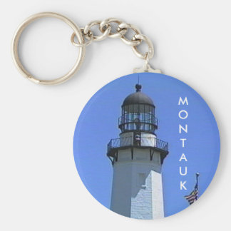 Montauk Lighthouse, The Hamptons, NY Keychain