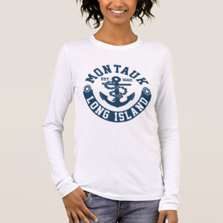 Montauk Long Island Long Sleeve T-Shirt