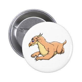 Montauk Monster Button