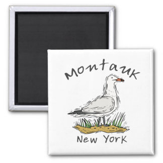 Montauk, NY Square Magnet