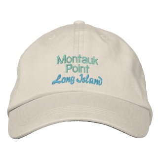 MONTAUK POINT cap Embroidered Hat