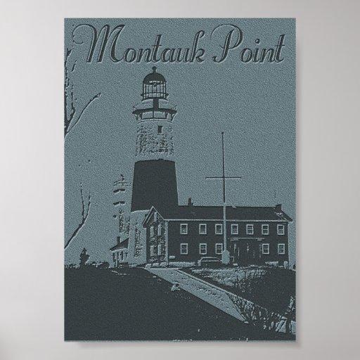 Montauk Point Poster