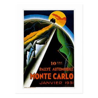 Monte Carlo 1931 Postcard