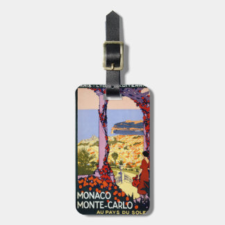Monte Carlo Bag Tag