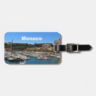 Monte Carlo in Monaco Bag Tag