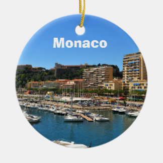 Monte Carlo in Monaco Ceramic Ornament