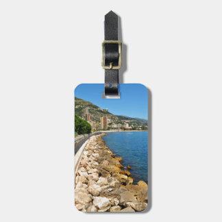 Monte  Carlo in Monaco Luggage Tag