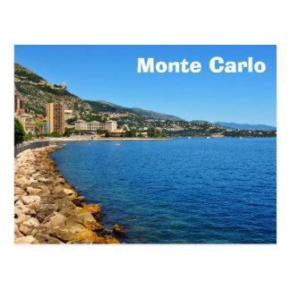 Monte  Carlo in Monaco Postcard