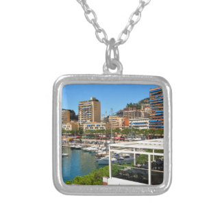 Monte Carlo in Monaco Silver Plated Necklace