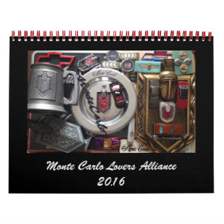Monte Carlo Lovers Alliance FB Group 2016 Calendar