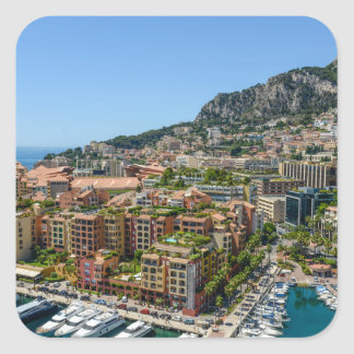 Monte Carlo Monaco Square Sticker