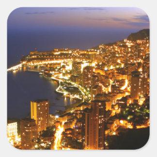Monte Carlo, Monaco Square Sticker