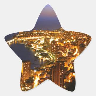 Monte Carlo, Monaco Star Sticker