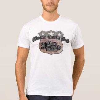Monte Carlo SS Classic - Faded Hues Rte 66 Sign T-Shirt