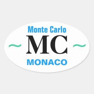 MONTE CARLO stickers (4)