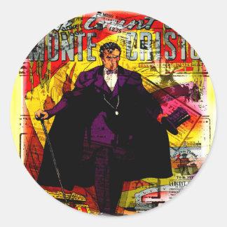 Monte Cristo Classic Round Sticker