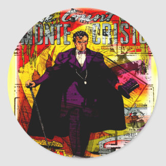 Monte Cristo Round Sticker