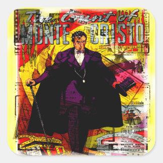 Monte Cristo Square Sticker