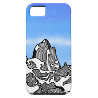Monte Fitz Roy Mountain Landscape Case For The iPhone 5
