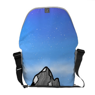 Monte Fitz Roy Mountain Landscape Commuter Bag