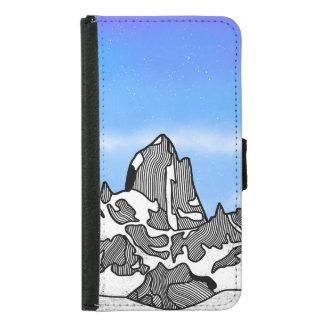 Monte Fitz Roy Mountain Landscape Samsung Galaxy S5 Wallet Case