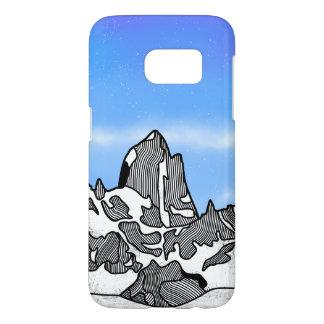 Monte Fitz Roy Mountain Landscape Samsung Galaxy S7 Case