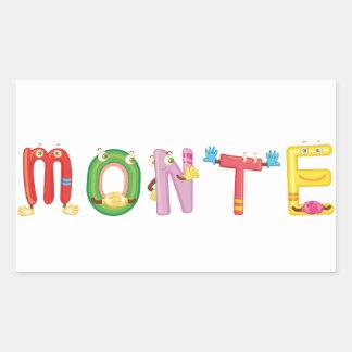 Monte Sticker