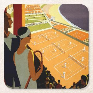Montecarlo Square Paper Coaster