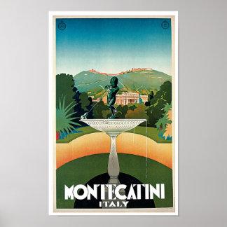 Montecatini Poster