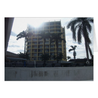 Montego Bay Hotel, Jamaica Card