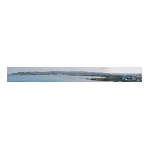 Montego Bay, Jamaica Panorama Posters