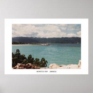 MONTEGO BAY, JAMAICA Seascape Posters