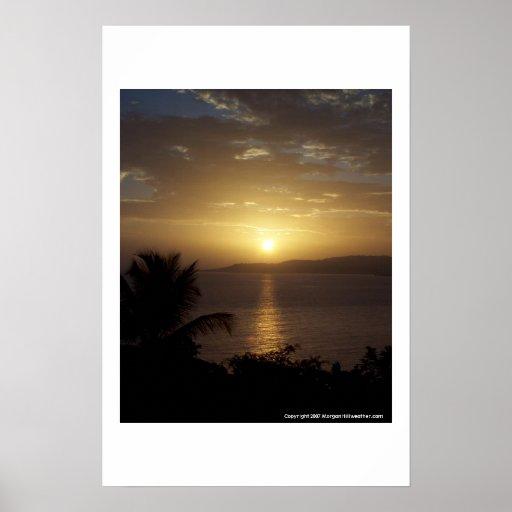 Montego Bay Sunrise Posters