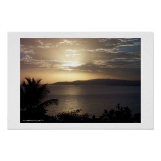 Montego Bay Sunrise Poster
