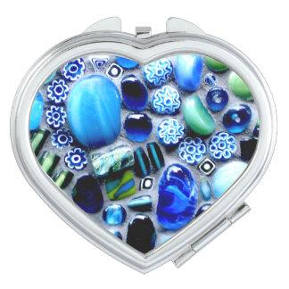 Montego Blues Mosaic Mirror For Makeup