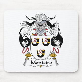 Monteiro Family Crest Mouse Pad