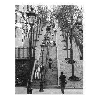Montemarte, Paris postcard