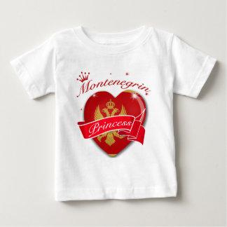 Montenegran Princess Baby T-Shirt