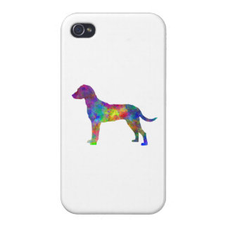 Montenegrin Mountain Hound in watercolor Case For The iPhone 4