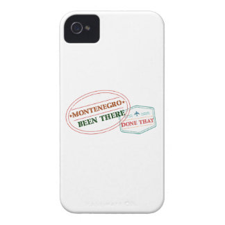 Montenegro Been There Done That iPhone 4 Case-Mate Cases