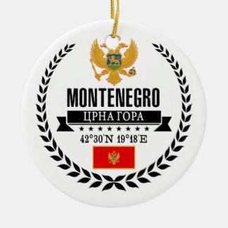 Montenegro Ceramic Ornament