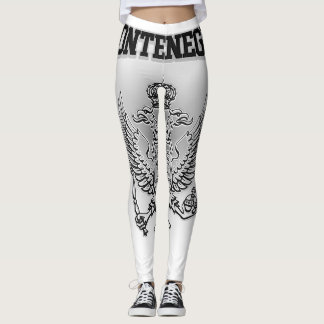 Montenegro Coat of Arms Leggings