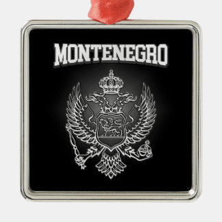 Montenegro Coat of Arms Metal Ornament