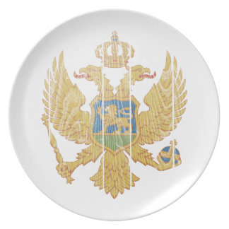 Montenegro Coat Of Arms Plates