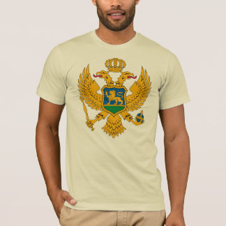 Montenegro Coat of Arms T-shirt